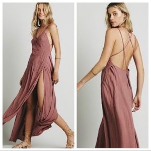Free People Summer Rain Maxi Dress HTF Sold Out